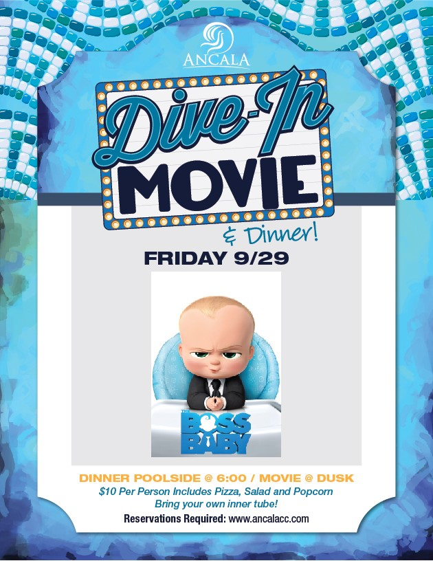 Dive in movie ancala country club friday september 29 2017 - Dive in movie ...